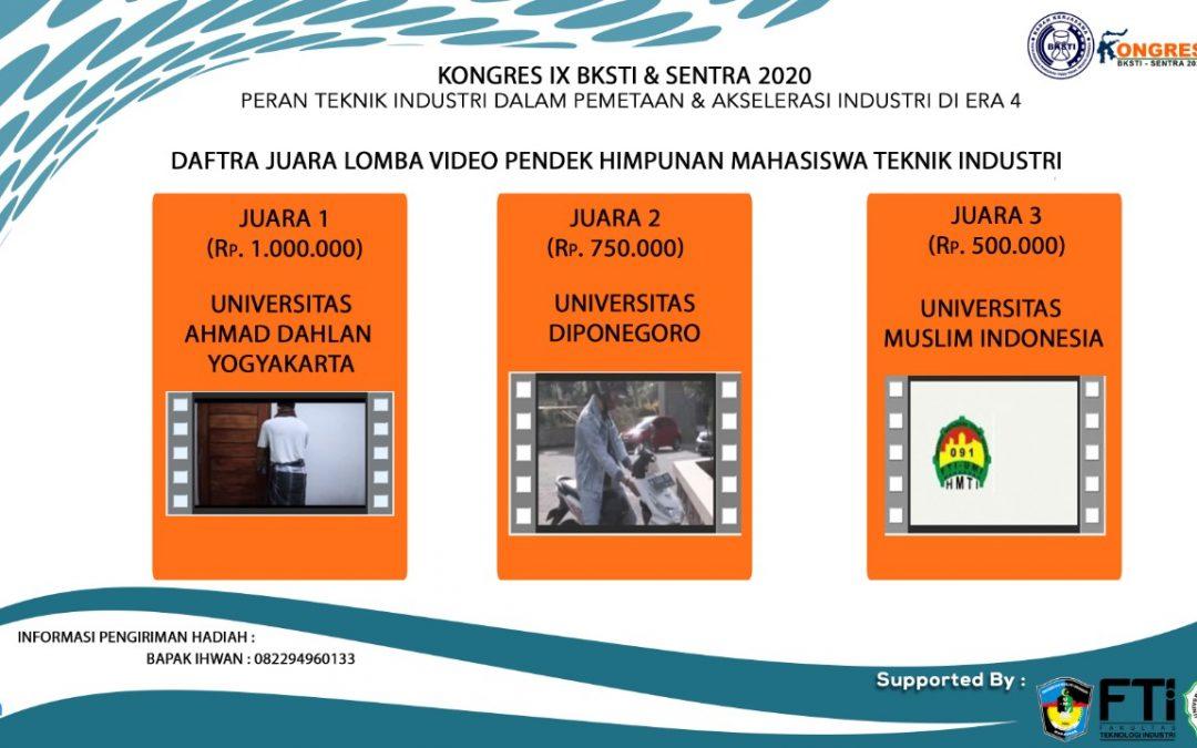 HMTI Undip Lawan Covid-19 Melalui Video Pendek BKSTI